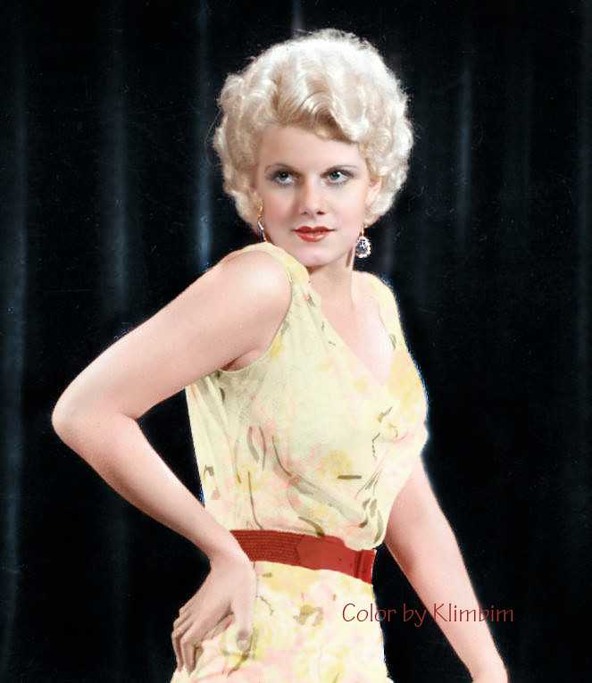 Jean Harlow sexy side look pic