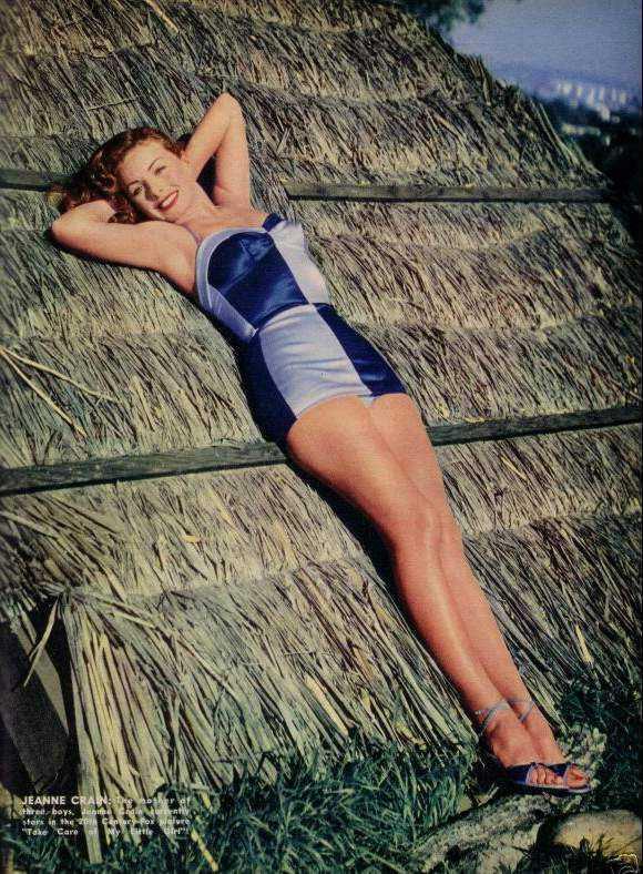 Jeanne Crain amazing