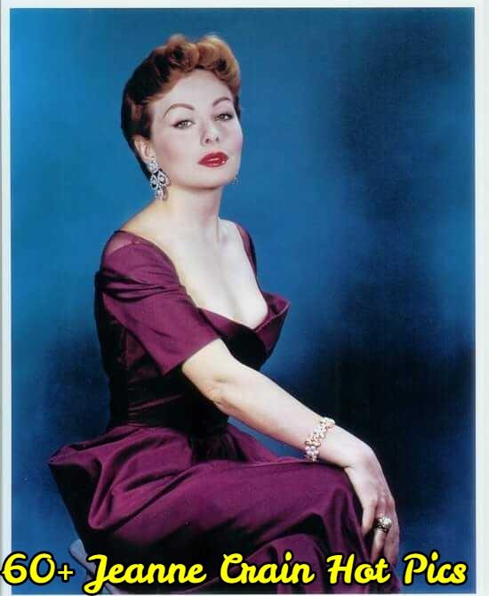 Jeanne Crain cleavage