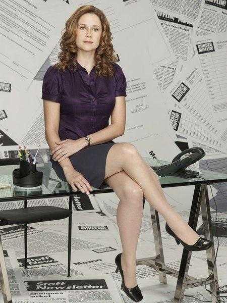 Jenna Fischer hot feet
