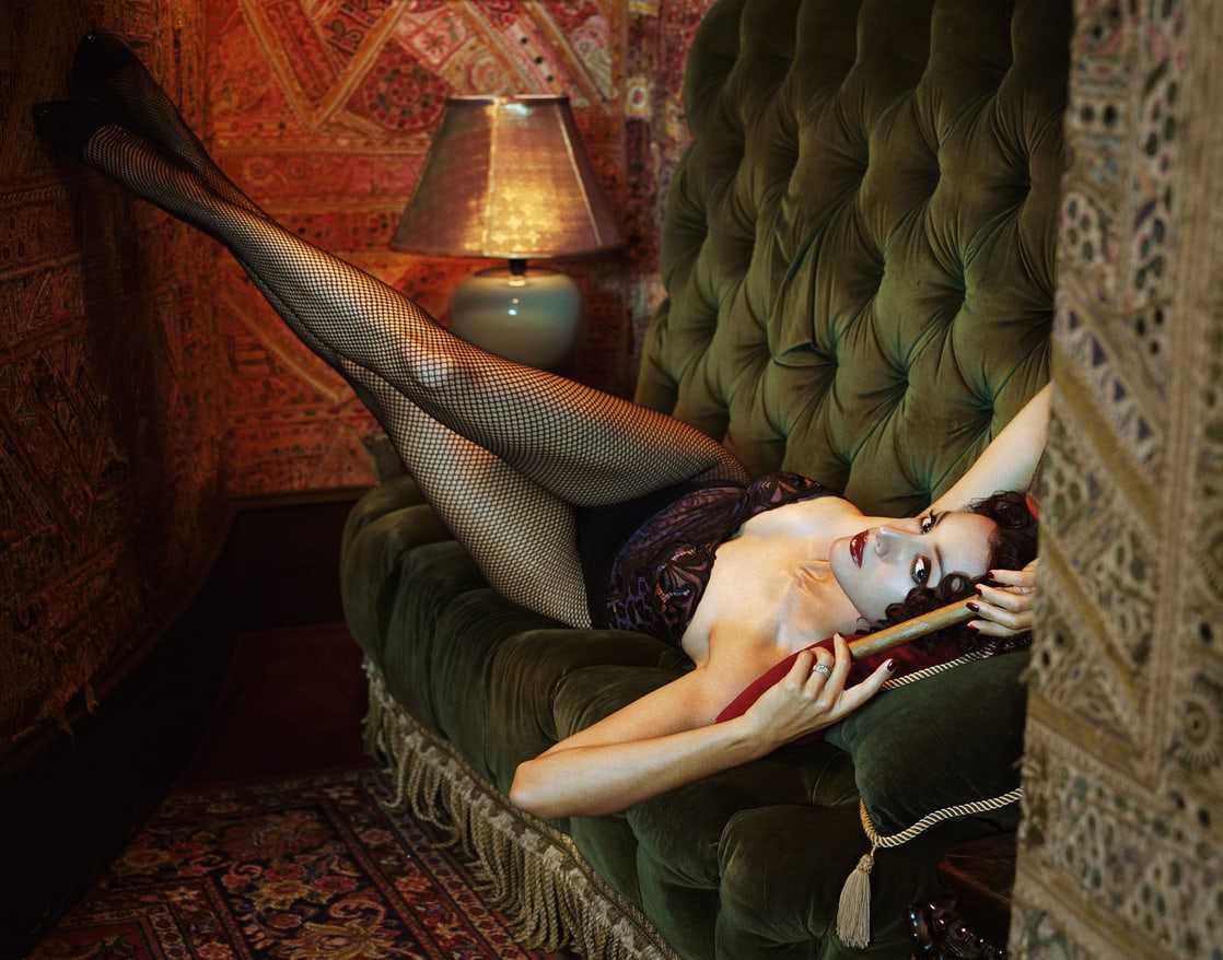 Jennifer Beals sexy look