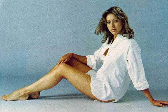 Jenny Agutter bare feet