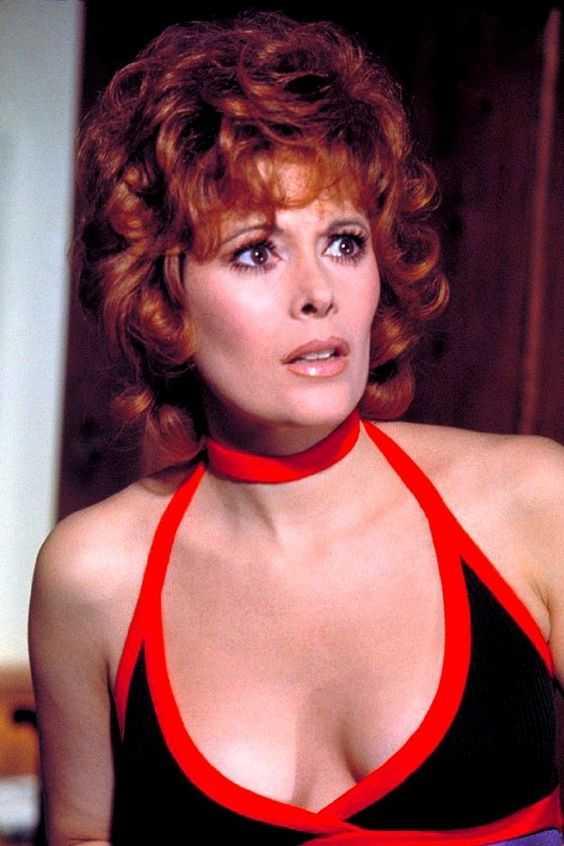 Jill St. John cleavage