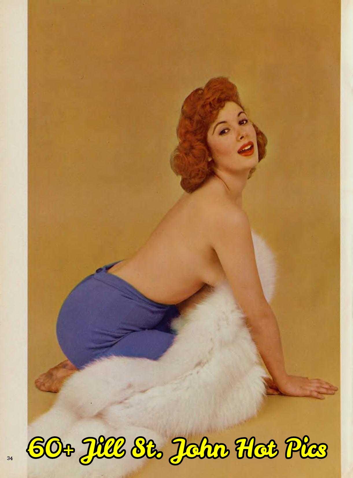 Jill St. John topless