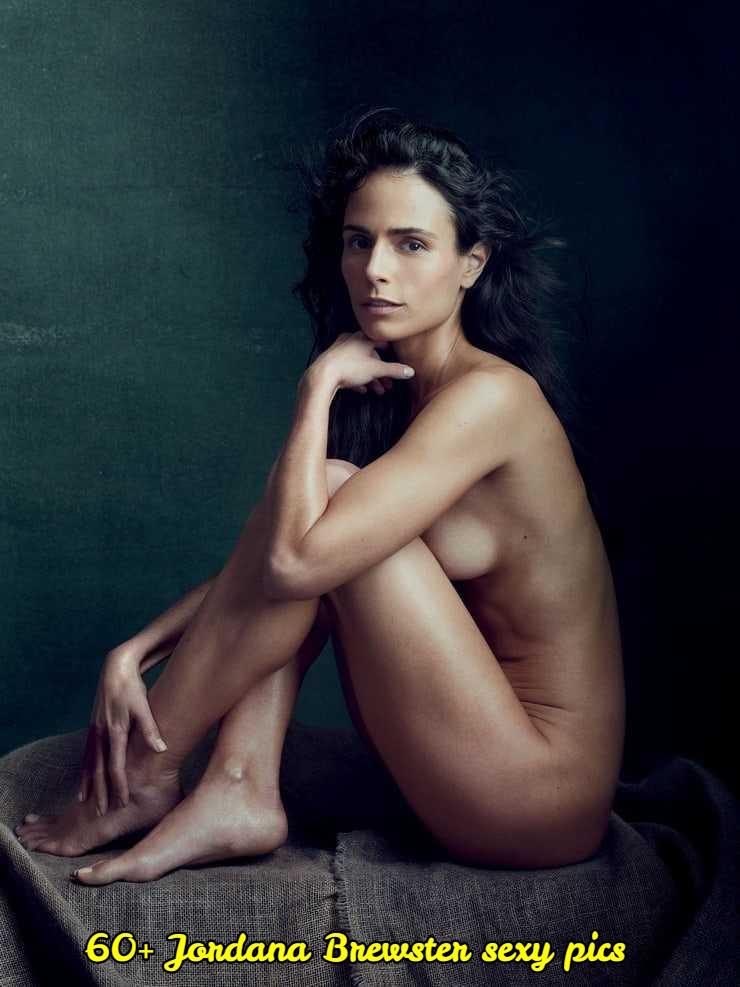 Jordana Brewster sexy near nude pic