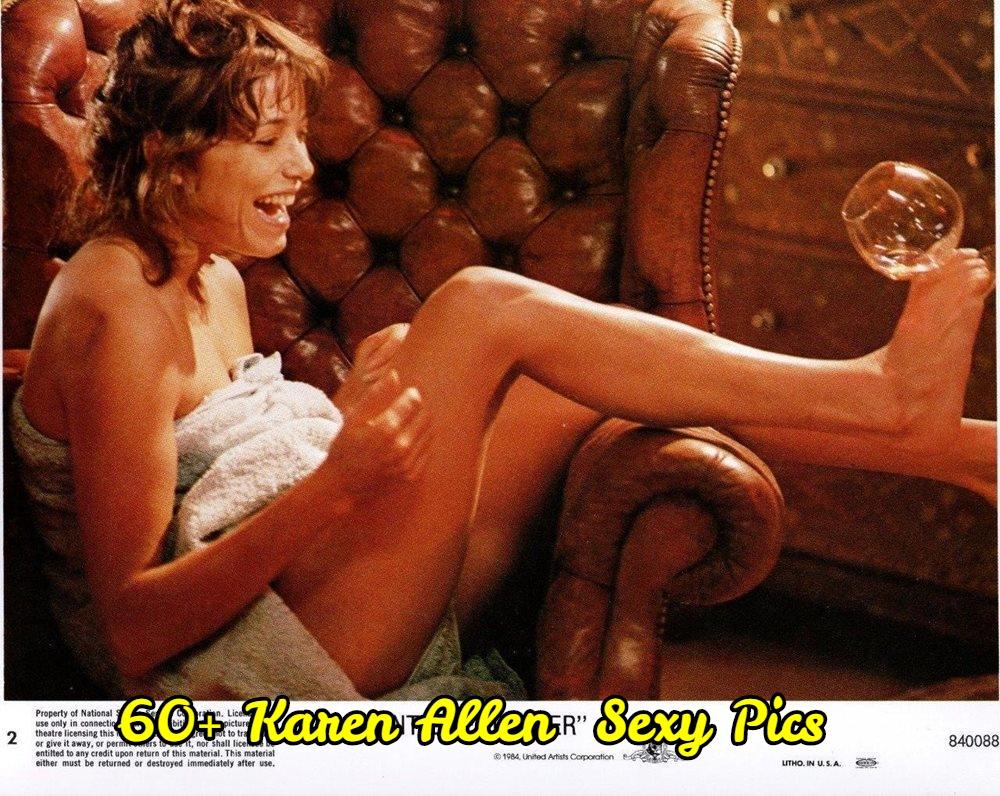 Karen Allen bare feet