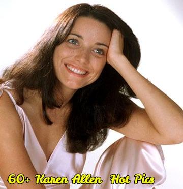 Karen Allen smile