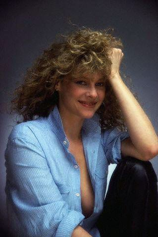 Kate Capshaw sexy cleavage