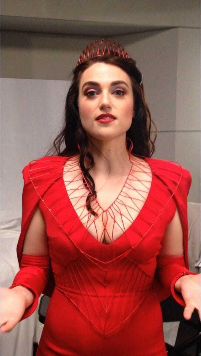 Katie McGrath cleavage pic