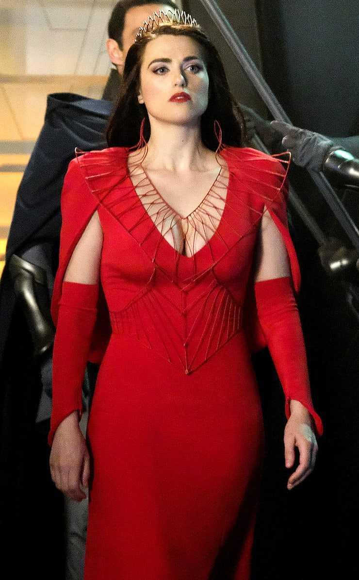 Katie McGrath hot cleavage