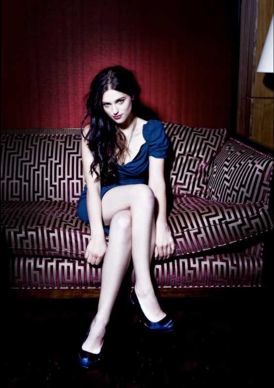 Katie McGrath hot feet pic