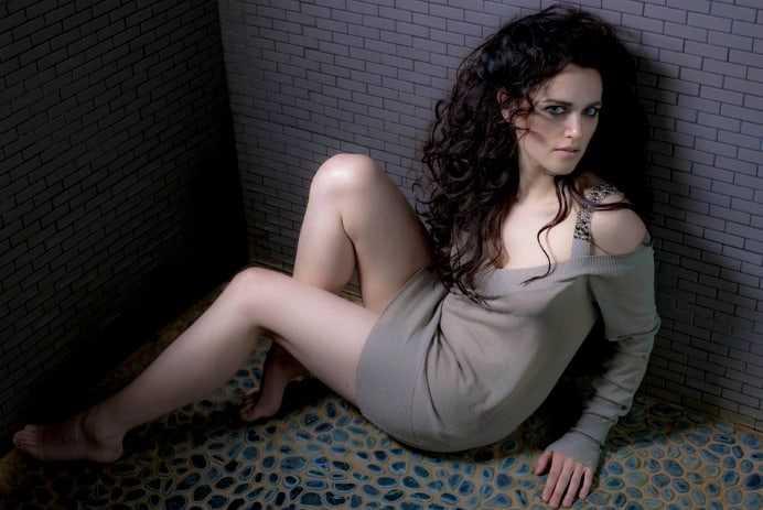 Katie McGrath hot legs