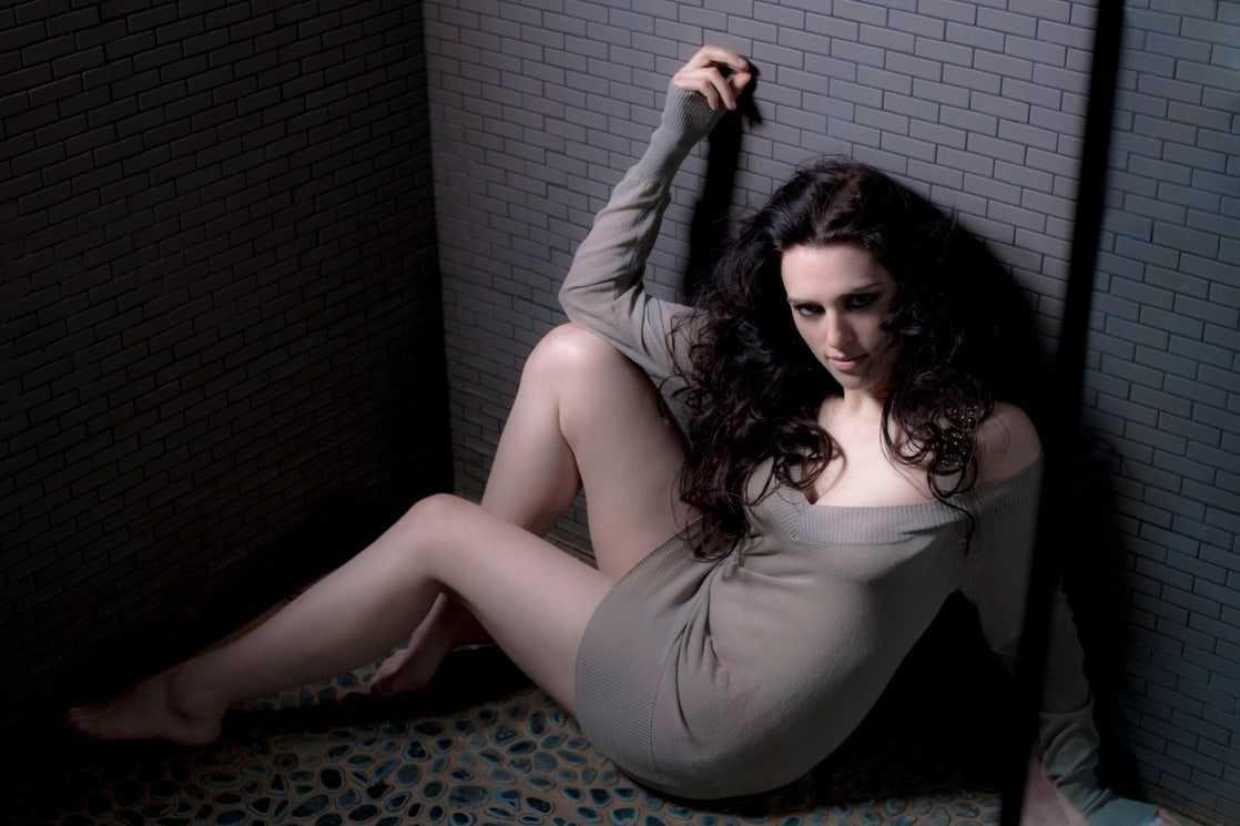 Katie McGrath sexy legs photo