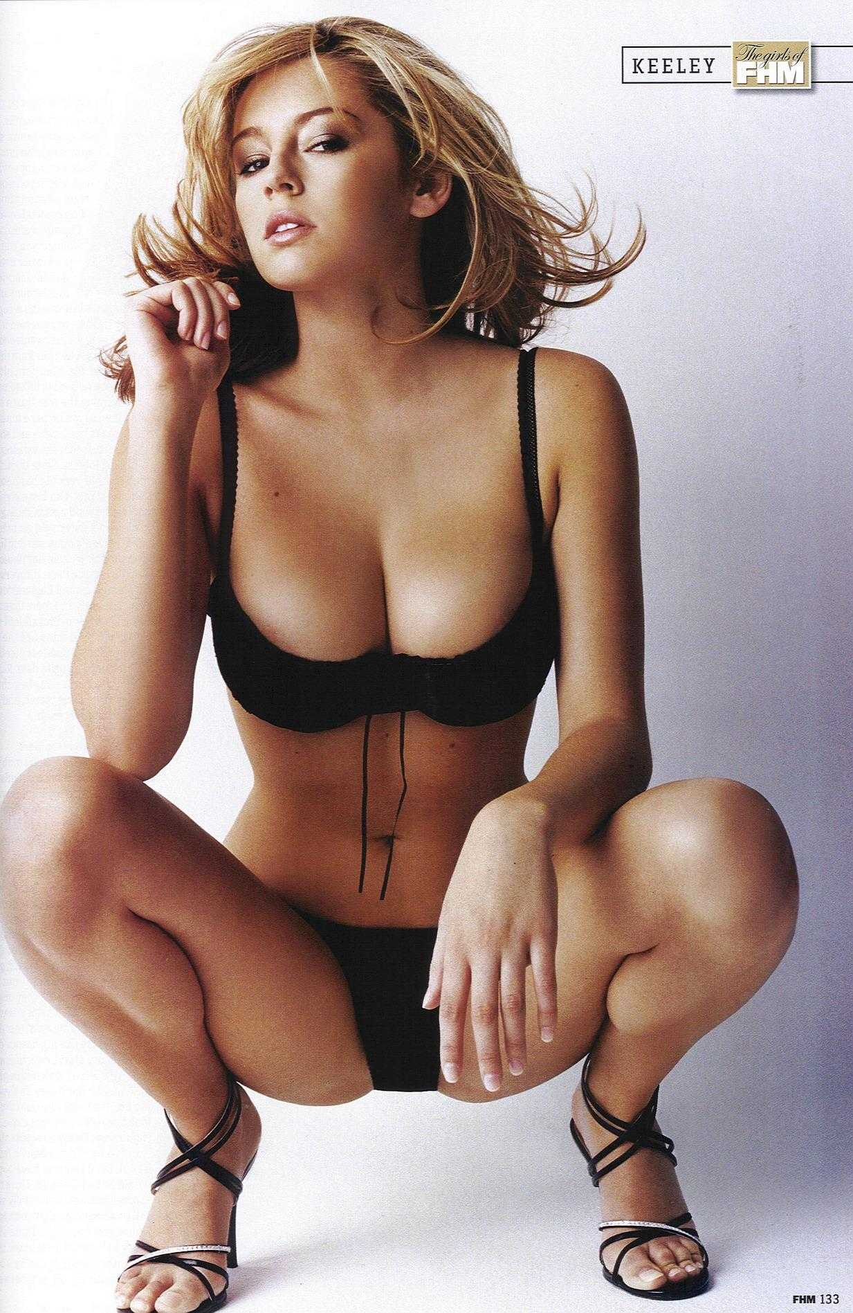Keeley Hazell hot cleavage pic