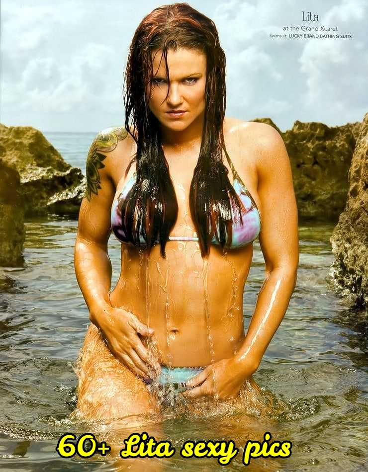 Lita sexy wet look