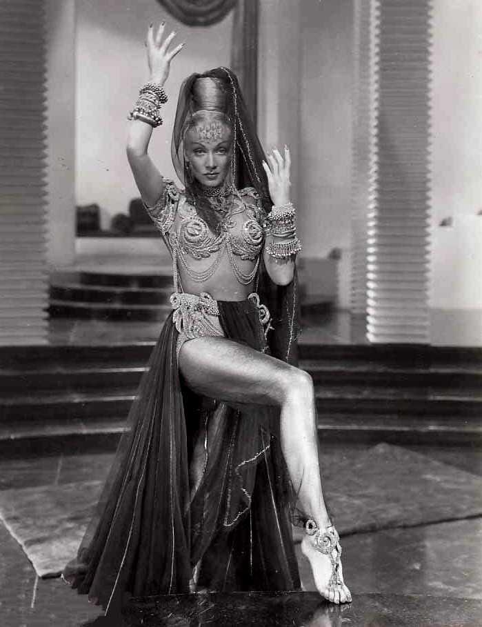 Marlene Dietrich amazing