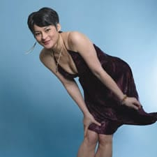 Meg Tilly cleavage