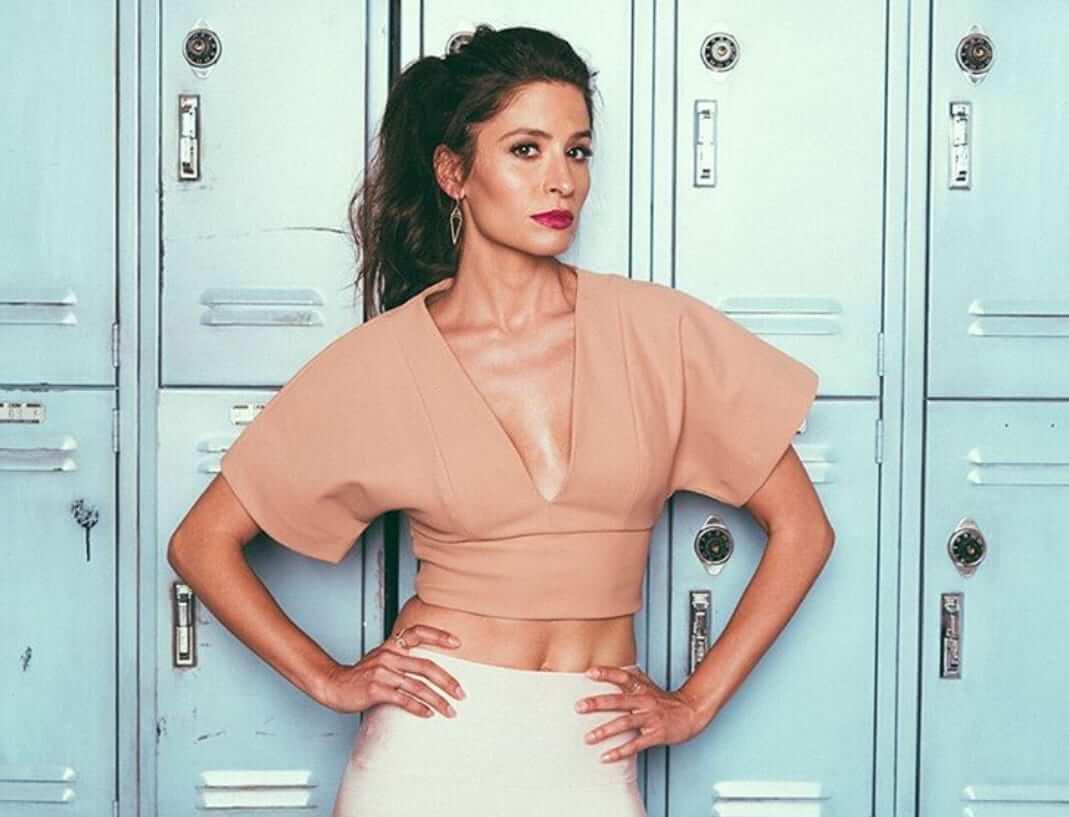 Mercedes Mason cleavage pics