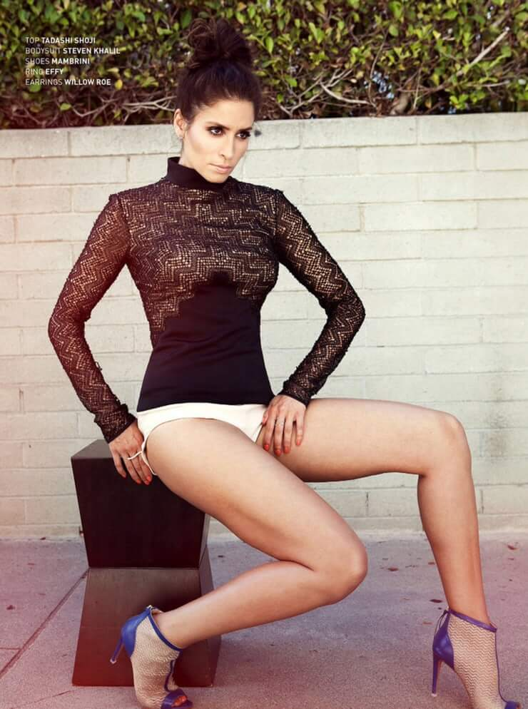 Mercedes Mason sexy legs