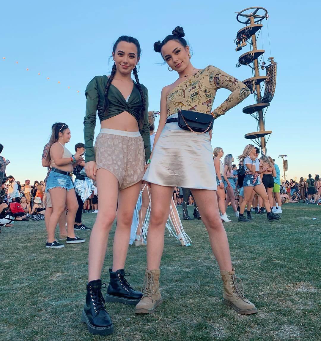 Merrell Twins hot legs