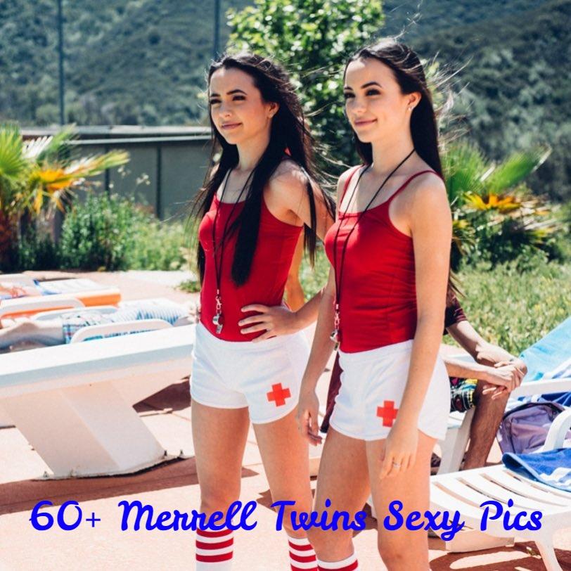 Merrell Twins hot pics
