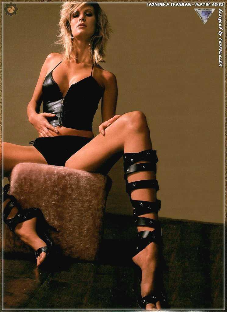 Monica Ivancan hot feet pic