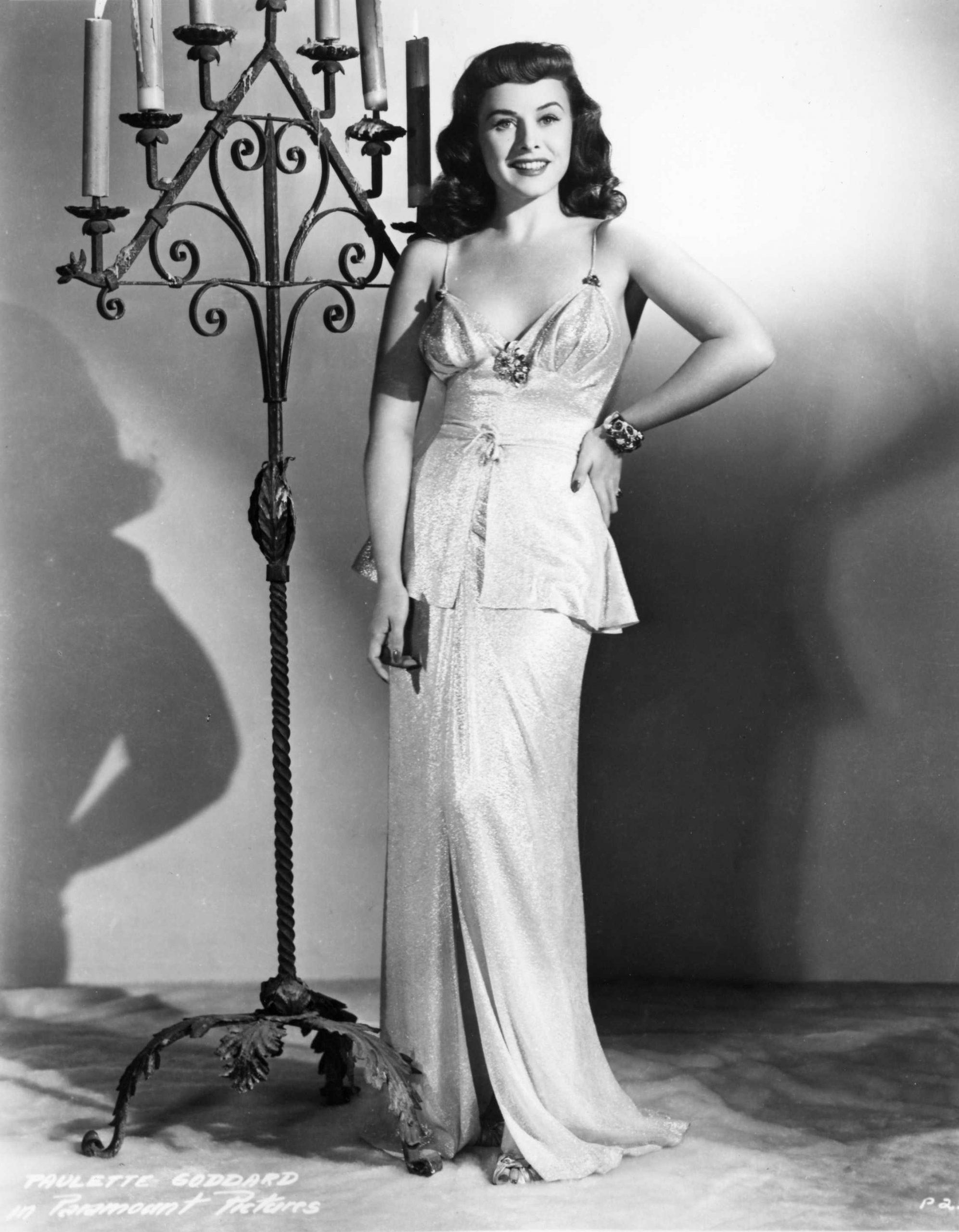 Paulette Goddard dress