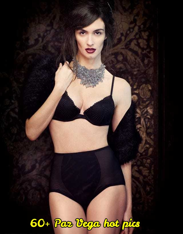 Paz Vega sexy cleavage