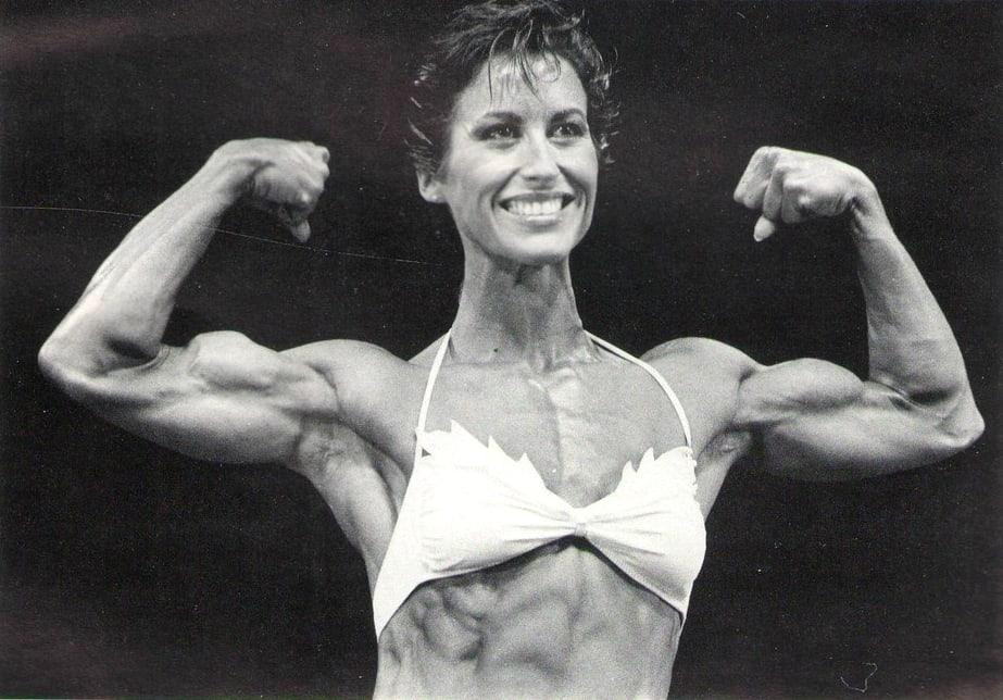 Rachel McLish bra