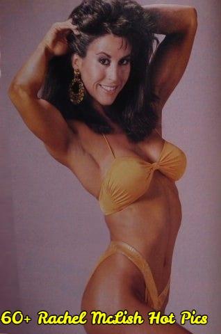 Rachel McLish side boobs