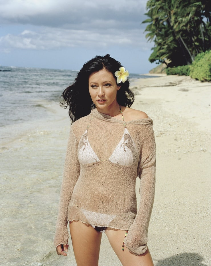 Shannen Doherty swimsuit
