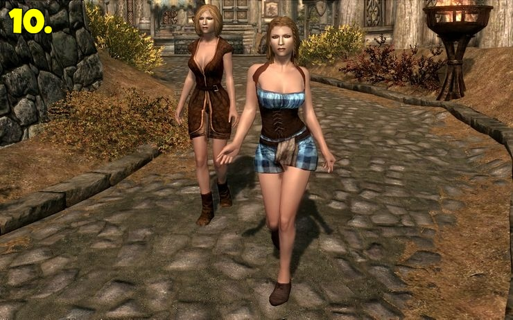 The FNIS Sexy Move mod