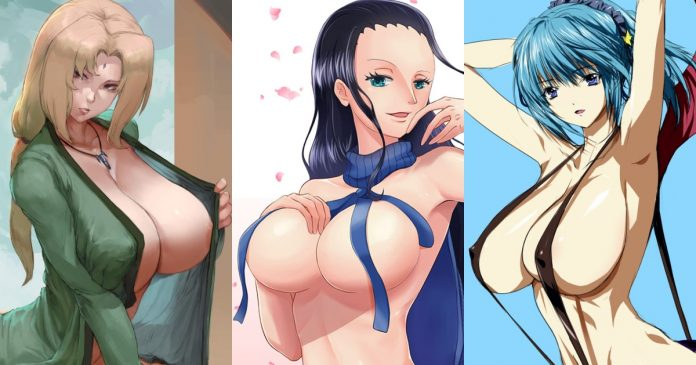 Top 50 Sexiest Anime Girls With Big Boobs