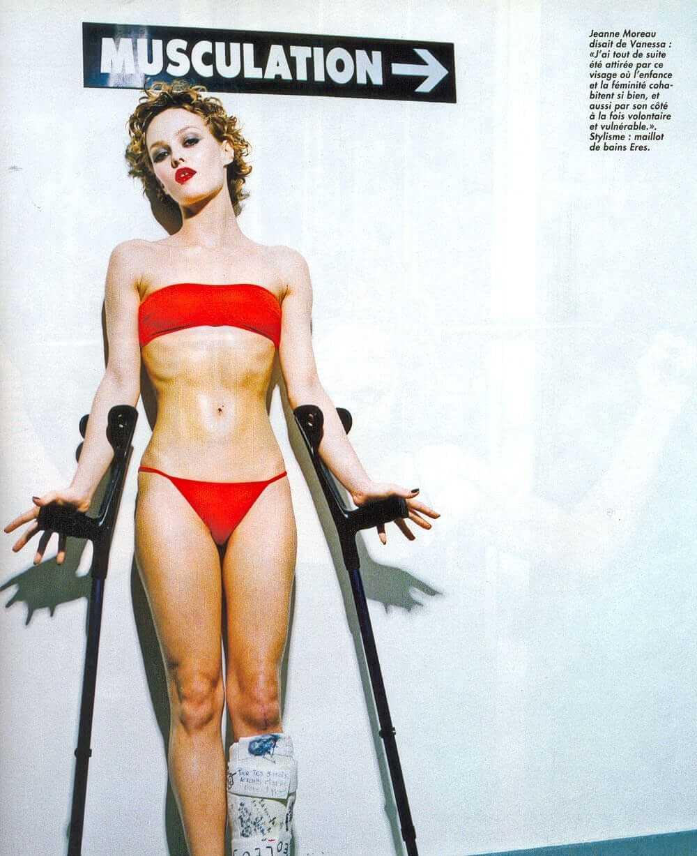 Vanessa Paradis bikini pics