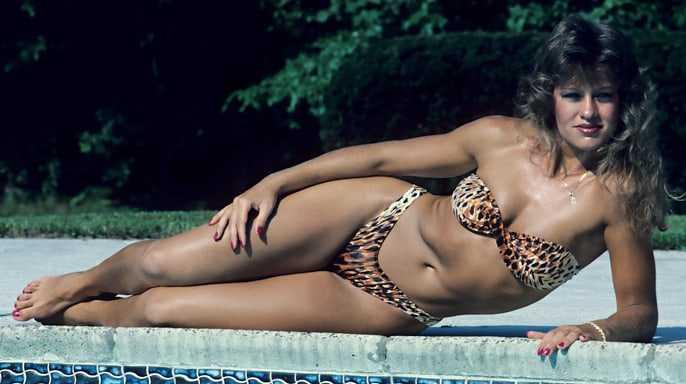 Wendi Richter bikini