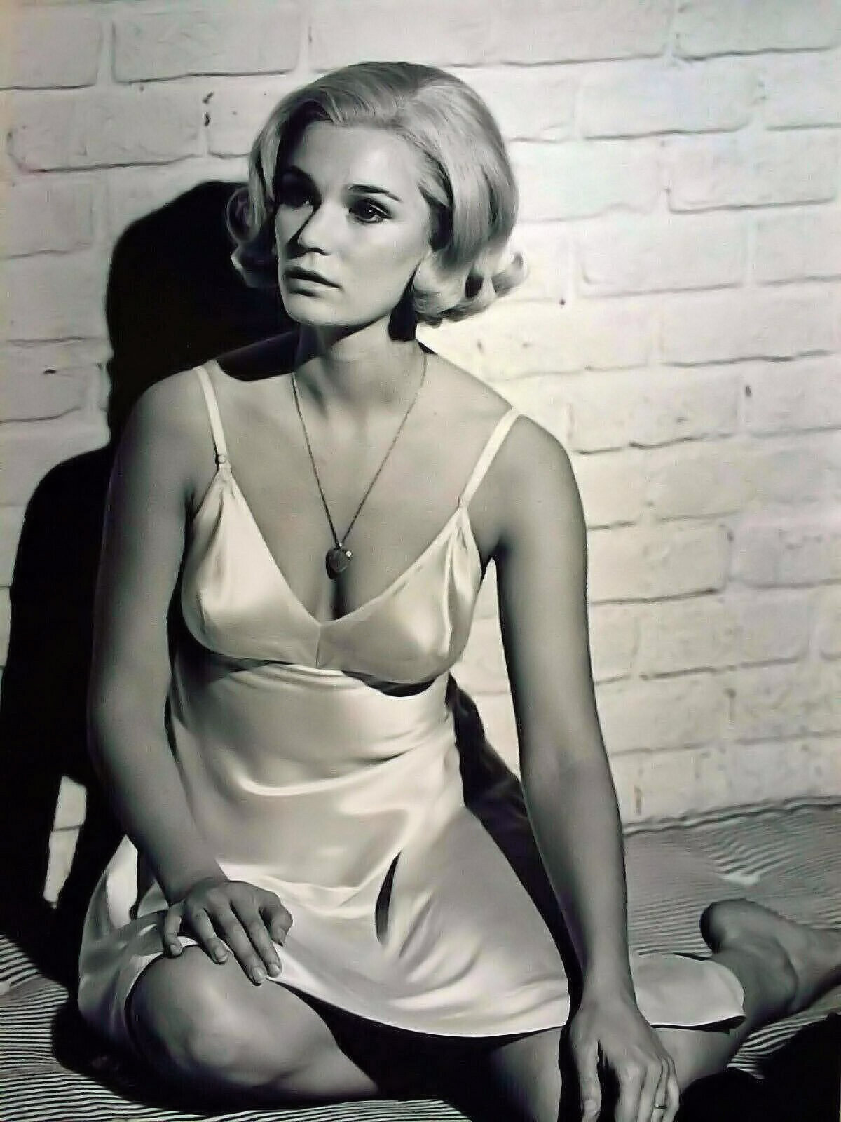 Yvette Mimieux boobs cleavage