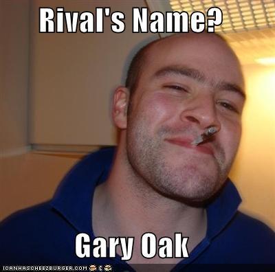 amusing Gary Oak memes