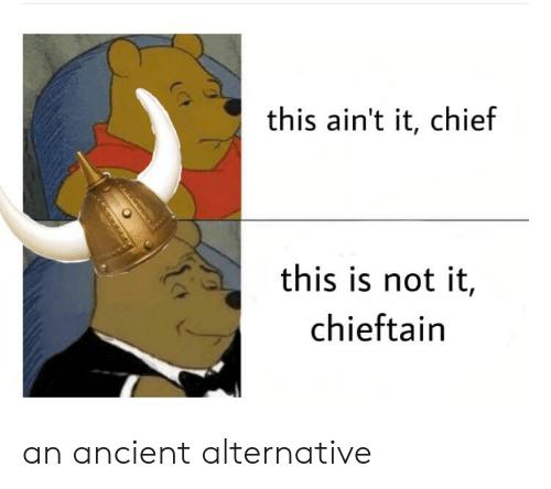 amusing This Ain't It, Chief memes