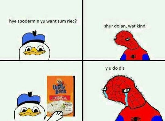 animated Spoderman memes