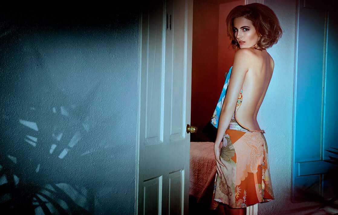 camilla belle hot back