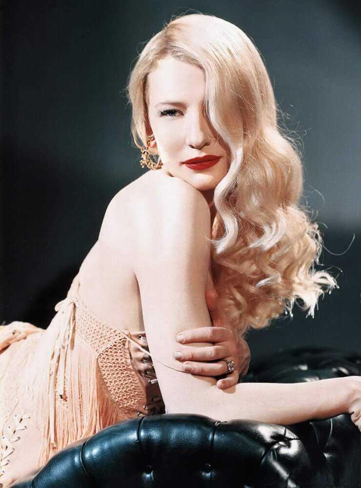 cate blanchett blonde hair