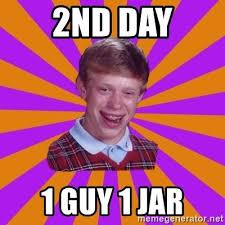 cheerful 1 Guy 1 Jar memes