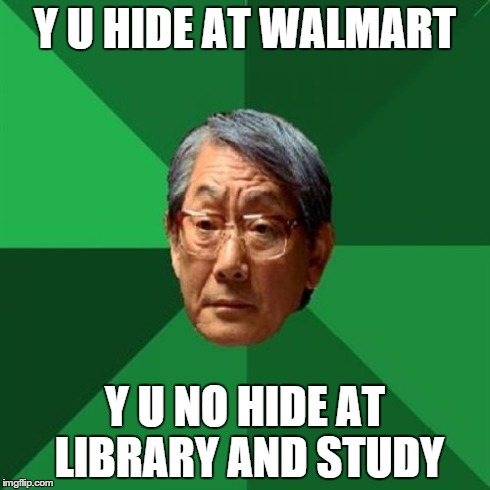 cheerful Asians in the Library memes