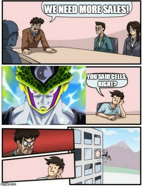 cheerful Boardroom Suggestion memes