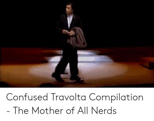 cheerful Confused Travolta memes