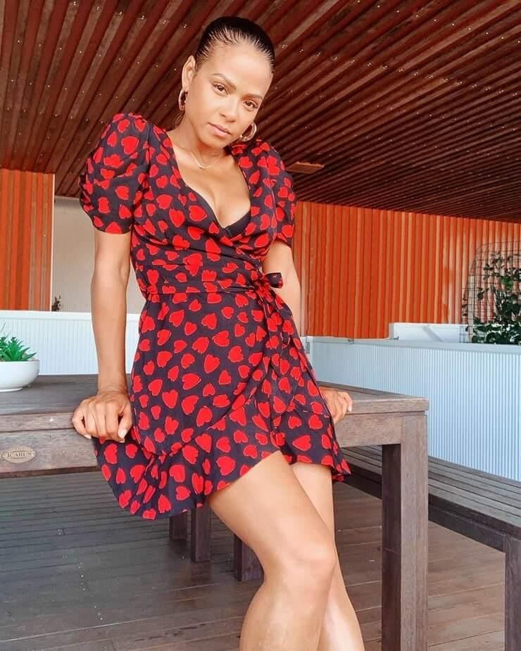 christina milian thighs