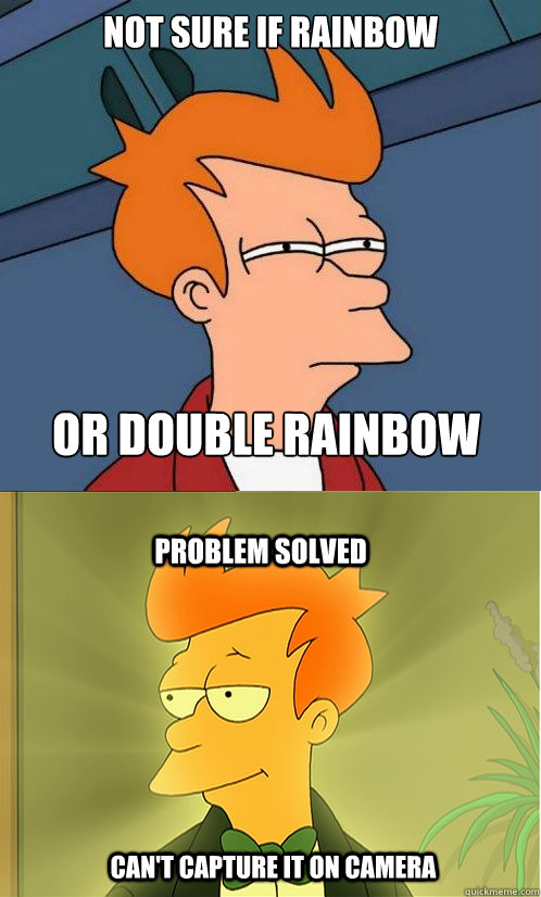 chucklesome Double Rainbow memes