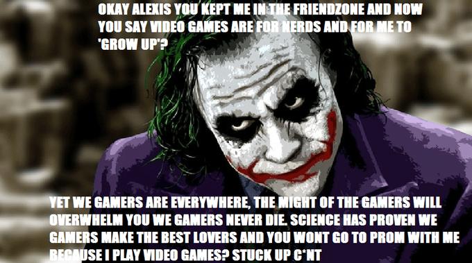 comic Gamer Joker Gamers Rise Up memes