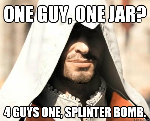 comical 1 Guy 1 Jar memes
