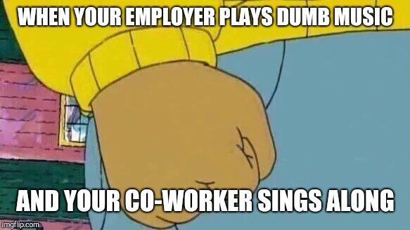 comical Arthur's Fist memes